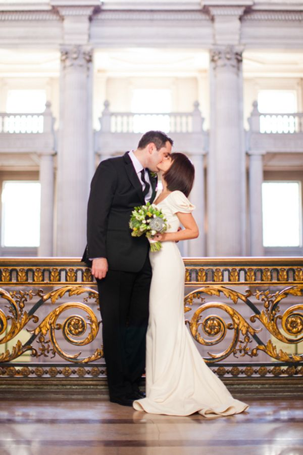 Intimate San Francisco City Hall Wedding - Inspired By This