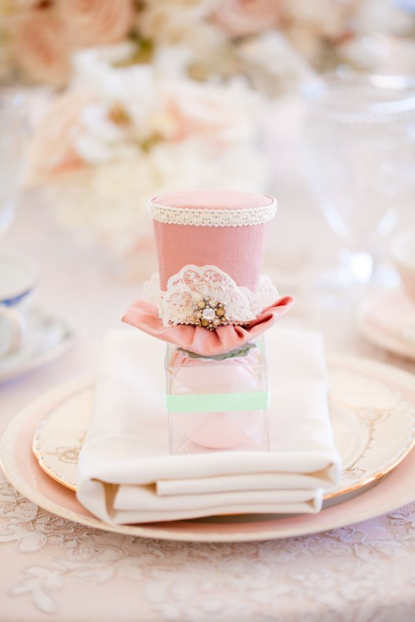 ... Pink Vintage Tea Party Bridal Shower by Chris & Kristen Photography