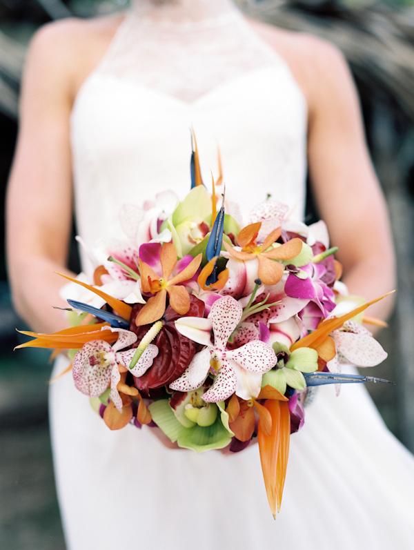 Inspired By This Outdoor Hawaiian Wedding By Wendy Laurel
