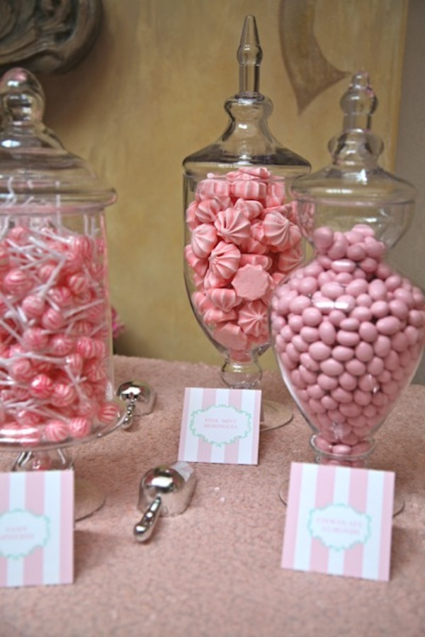 pink parisian baby shower inspired by this