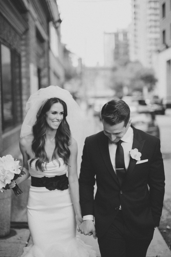 Inspired by This Black and White Modern Loft Wedding by Mango Studios