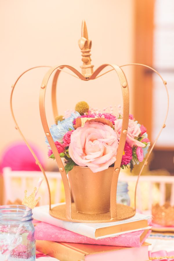 Pink Princess Birthday Party By Sienna Rose Photography