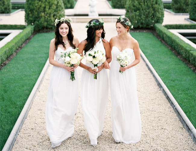 Win a free wedding dress from donna morgan on inspired by for Donna morgan wedding dresses