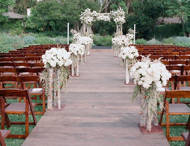 birch chuppah wedding arbor - Ultrapom Event Rental