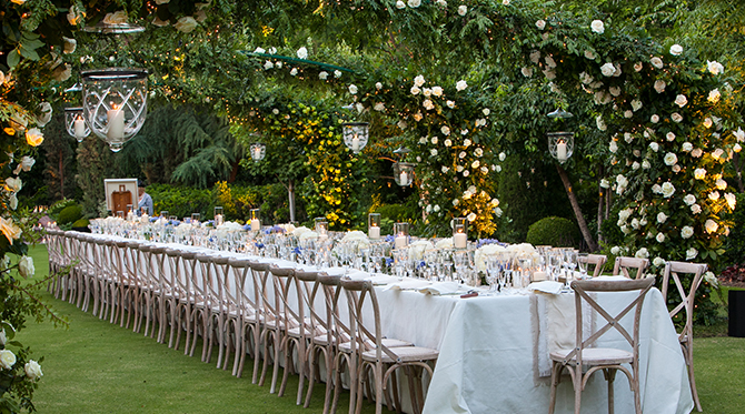 Secret Garden Anniversary Party Inspired By This