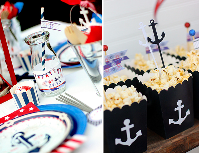 """From Sea to Shining Sea"" Themed 4th of July Party ..."