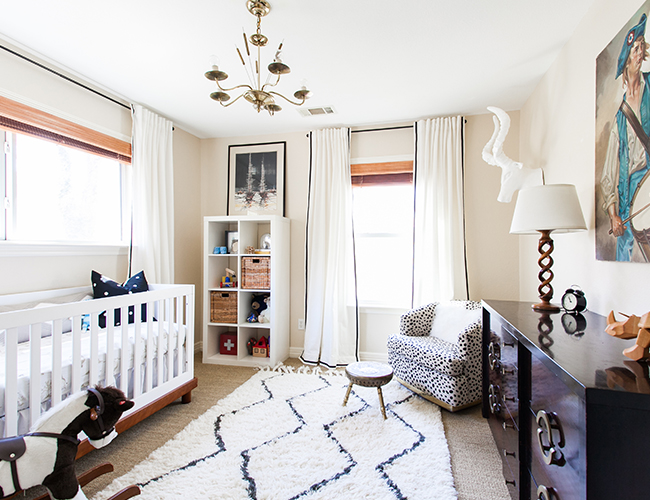 Modern Black White And Gold Nursery Inspired By This
