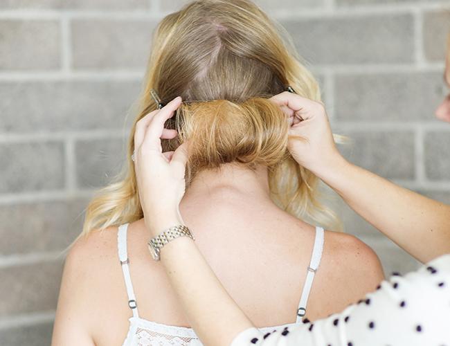Hair DIY: Overlapped Bun