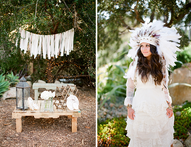 Outdoor Bohemian Wedding Inspired By This