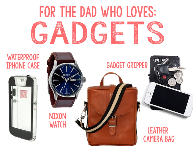 Father 39 s day gift guide inspired by this for Cool gadgets for dads