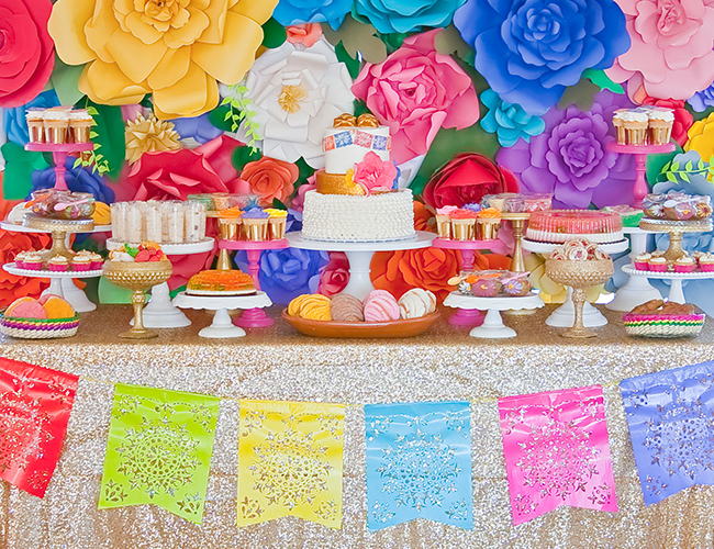 fiesta themed baby shower inspired by this