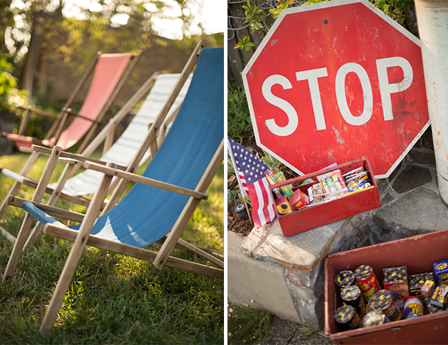Backyard Fireworks : Backyard 4th of July Firework Viewing Party from Found Rentals