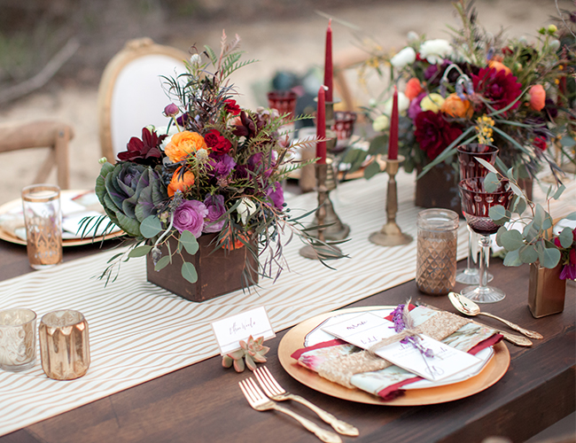 Rustic Boho Wedding Inspiration - Wedding Blog