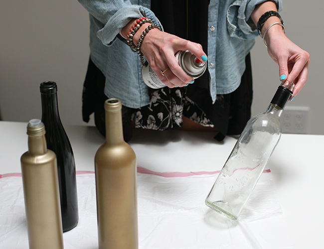 DIY Wine Bottle CenterpiecesInspired by This Lifestyle Blog