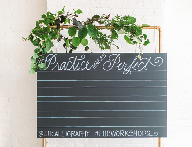 Boston Calligraphy Workshop From Laura Hooper Lifestyle Blog