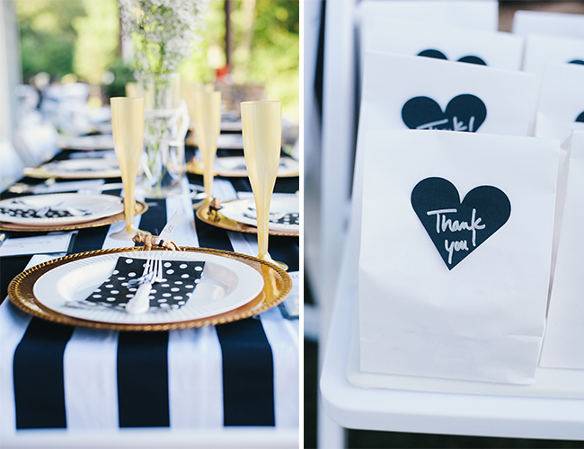 Navy And Gold Polka Dot Gender Reveal Party Baby Blog