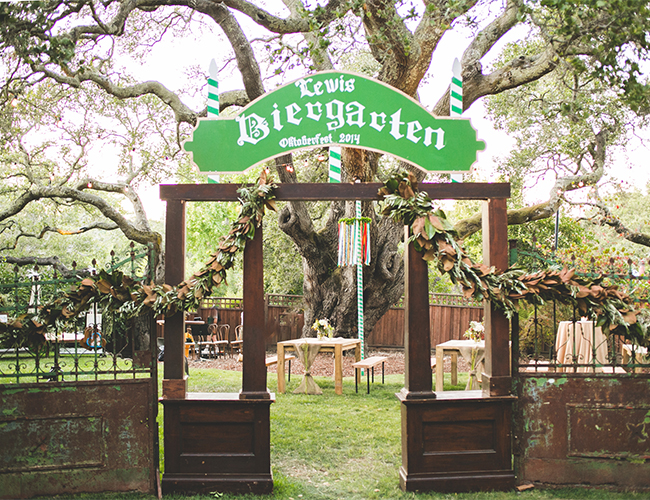 quotoktoberfestquot backyard party inspired by this