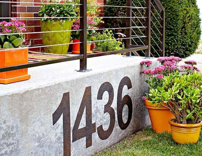 Better Homes And Gardens Postal Address Address Displays
