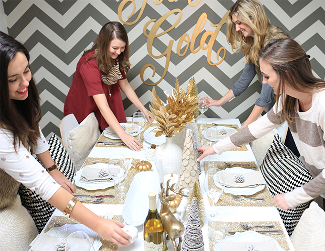 Inspired By This Team's Holiday Luncheon