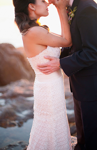 Palos Verdes Peninsula Elopement At Sunset Inspired By This