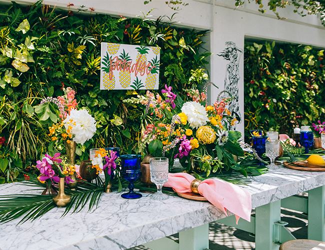 Caribbean Rehearsal Dinner Theme: Tropical Wedding Rehearsal Dinner