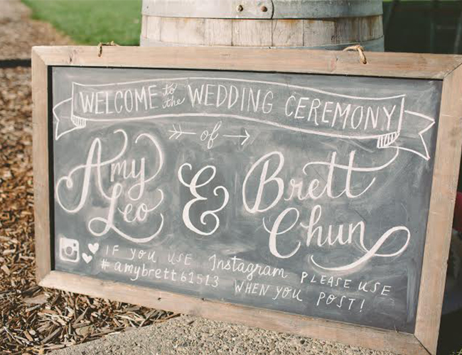 Wedding Venues What You Need For A Large Wedding: The Wedding Signs You Need From Ceremony To Reception