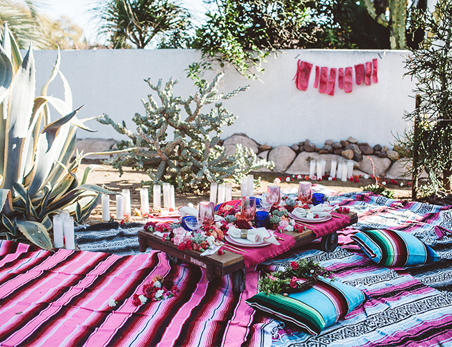 Bohemian Backyard Party : End of Summer Bohemian Backyard Party  Inspired By This