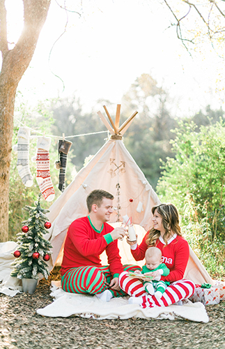 Red Christmas Pajamas For Kids