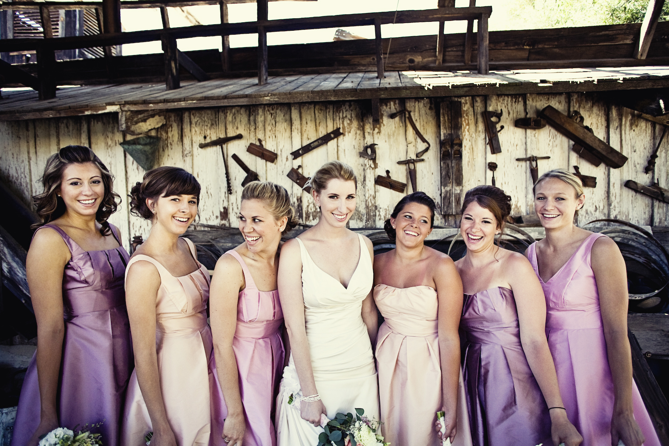 Grey navy and pink san diego vineyard wedding inspired by this venue bernardo winery ombrellifo Choice Image