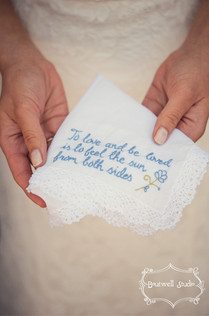 Wedding Gift Ideas Something Blue : Inspired by These Vintage Wedding HandkerchiefsInspired By This