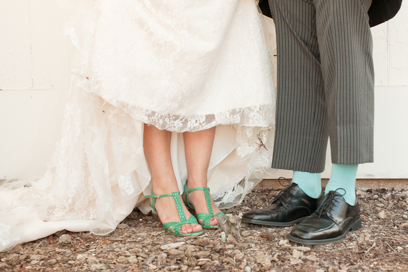 Inspired By These Green Wedding Shoes Inspired By This