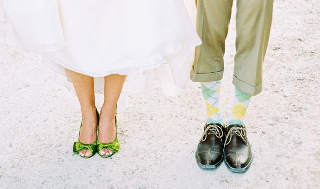 green wedding shoes fun wedding shoe ideas fun groom socks